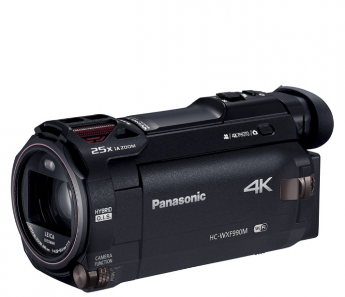 HC-WXF990M, Panasonic camcorder, 4K camcorder