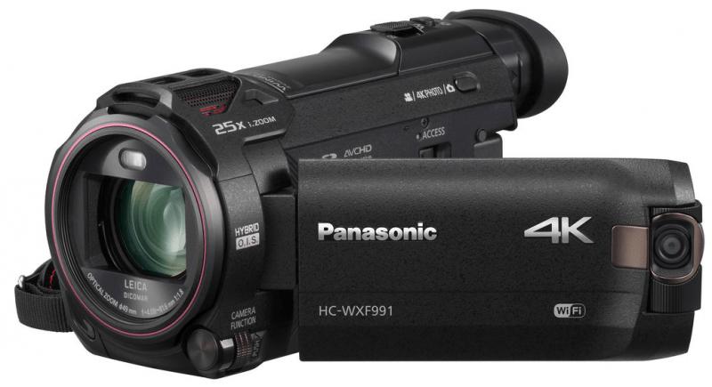 HC-WXF991K, 4K camcorder, Panasonic camcorder,