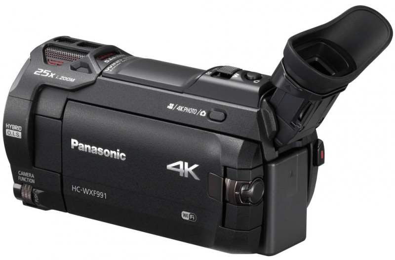 Panasonic HC-WXF991K review, 4K handycam, Panasonic 4K UHD camcorder