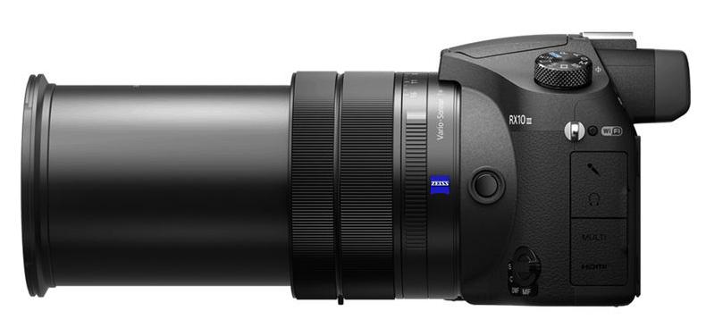 Sony digicam, 25x zoom lens, 4K movie recording