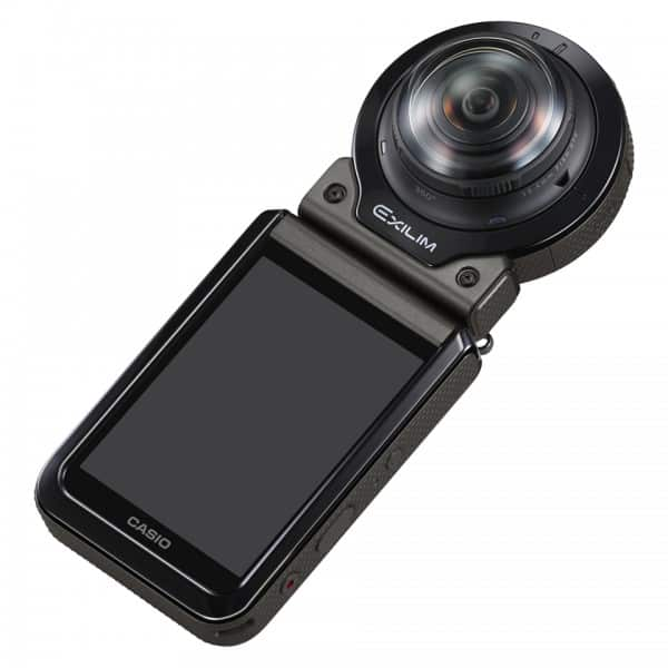 Casio EX-FR200, 360 degree camera, Casio camera