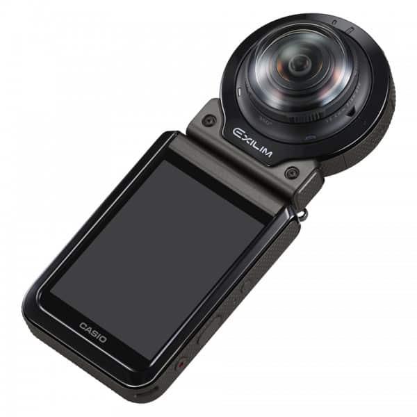 Casio EX-FR200, 360 degree camera, Casio camera