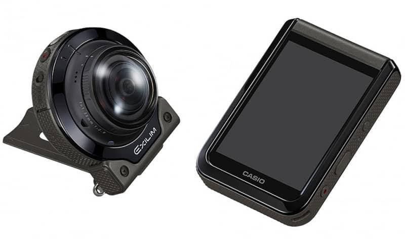 EX-FR200, Casio camera, 360 video