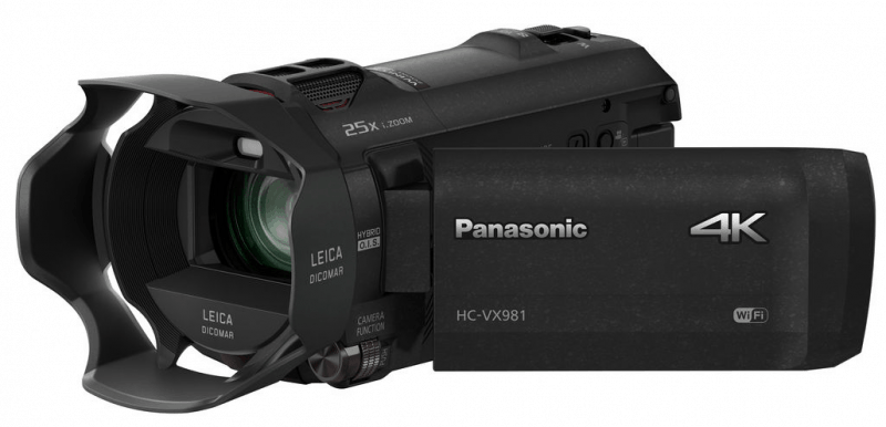 Panasonic HC-VX981, 4K camcorders, HC-VX981 review