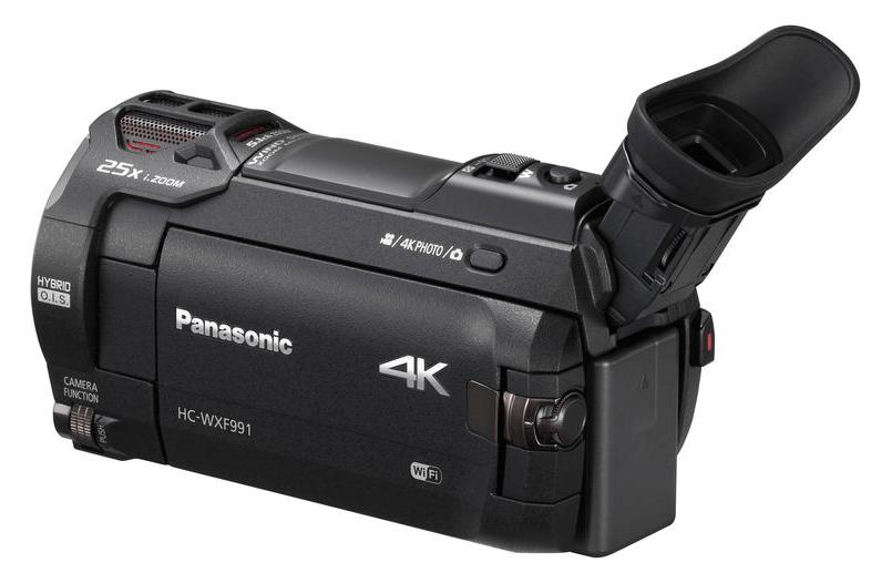 4K UHD camcorder, HC-WXF991K, 4K cameras