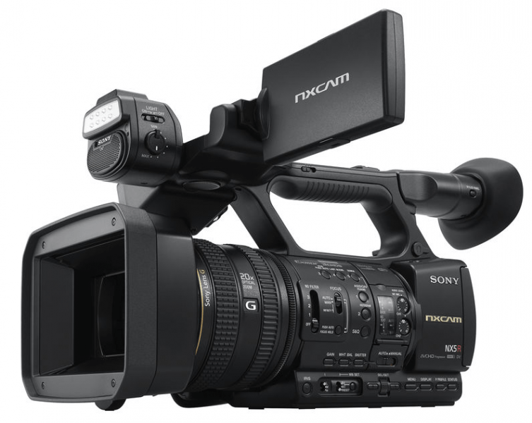 Sony Launches Latest Professional Camcorder with the HXR-NX5R