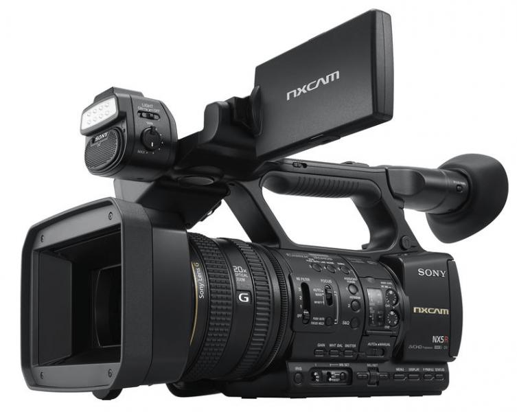 HXR-NX5R NXCAM, Sony NXCAM, professional camcorder,