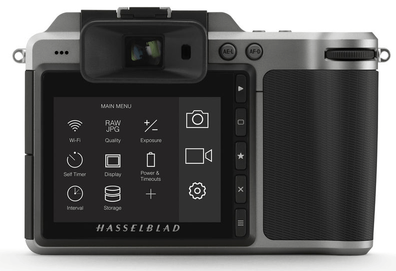 X1D LCD, medium-format camera, digital camera