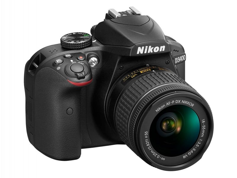Nikon Introduces Its Newest Entry-Level DSLR Called D3400