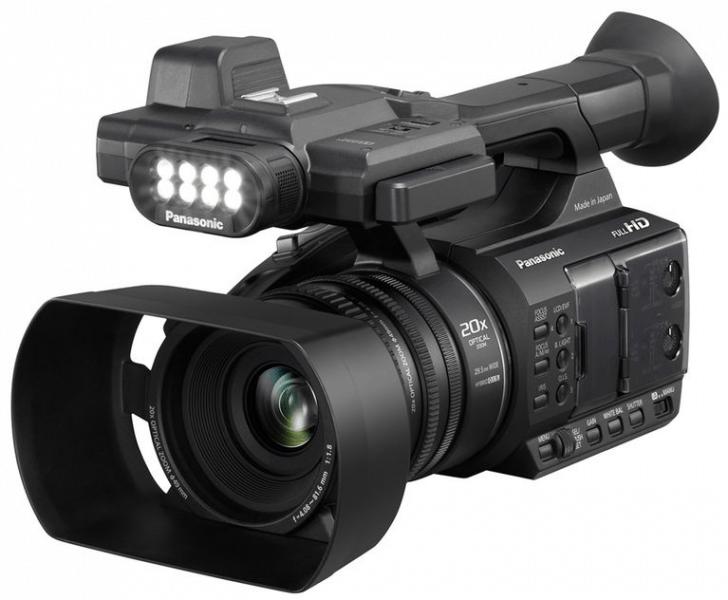 Panasonic AG-AC30, AG-AC30, Full HD camcorder