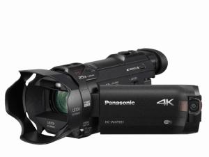 Panasonic HC-WXF991K, Panasonic 4K camcorder, 4K camcorders