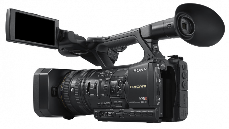 Sony HXR-NX5R NXCAM, Sony procamcorder, Full HD camcorders, professional camcorders