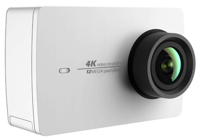 Yi 4K action camera, 4K action camera, Yi action camera