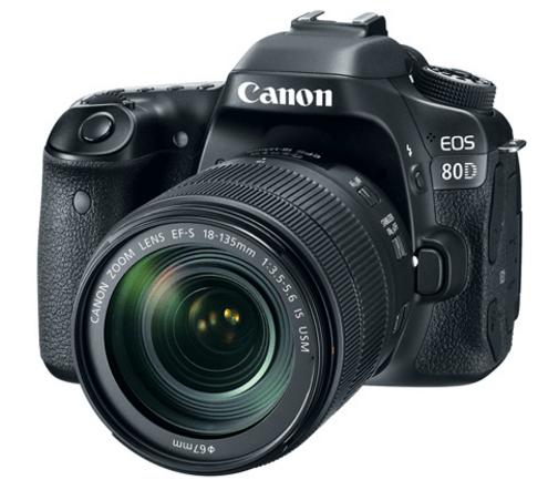 Canon EOS 80D, Canon DSLR, EOS 80D