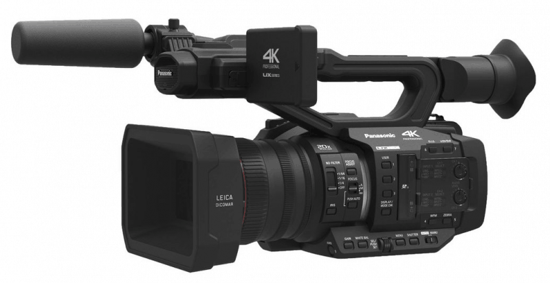 Panasonic AG-UX180 & AG-UX90 4k Camcorders