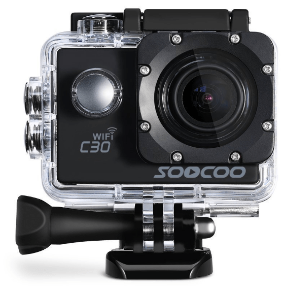SOOCOO C30, 4K sports camera, 4K action camera