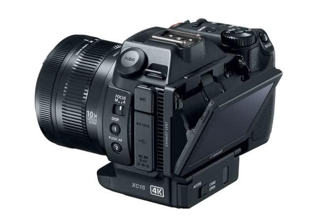 XC15, Canon camcorders, Canon cameras, 4K video cameras,