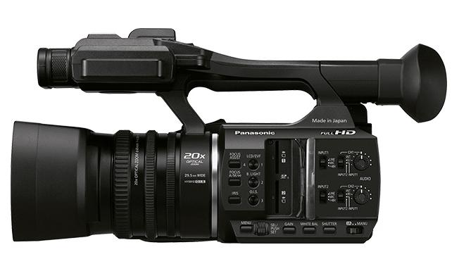 AG-AC30 camcorder, handheld camcorders, Panasonic cameras, Panasonic video cameras
