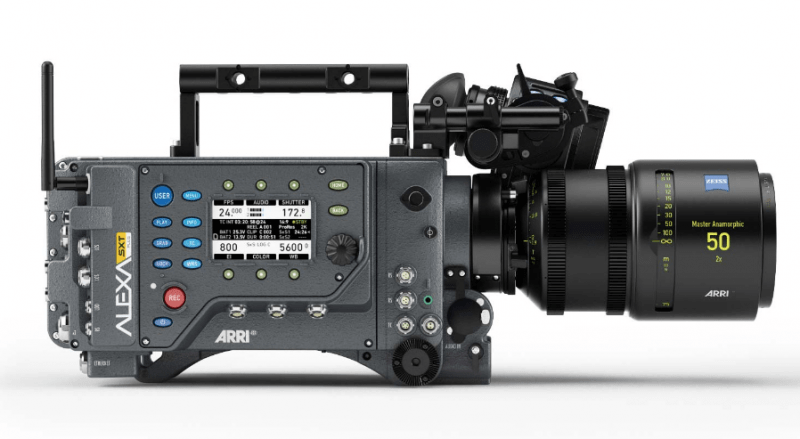 Alexa SXT 4K camera, 4K recording, 4K video
