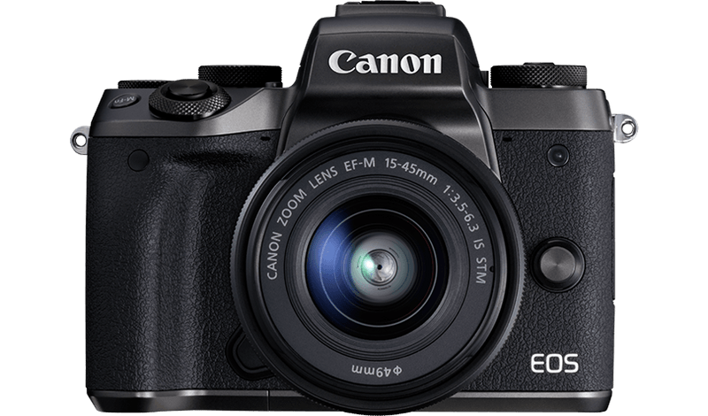 Canon EOS M5, Canon mirrorless camera, digital camera