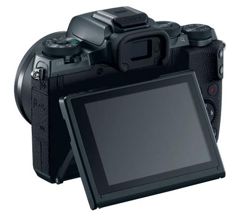 Canon M5, M5 camera, Canon digital camera