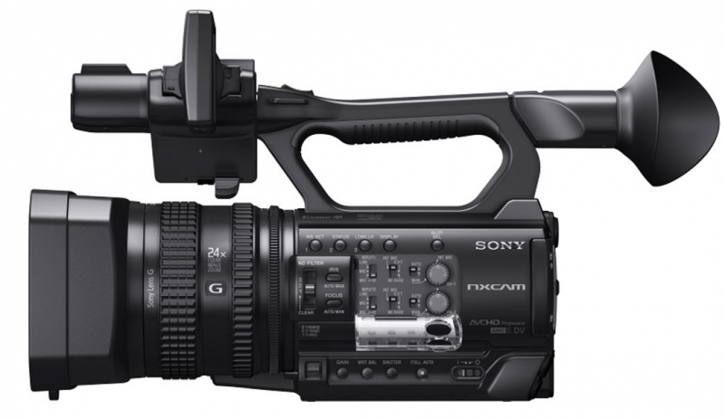 HXR-NX100 camcorder review, Sony NXCAM, HXR-NX100 features
