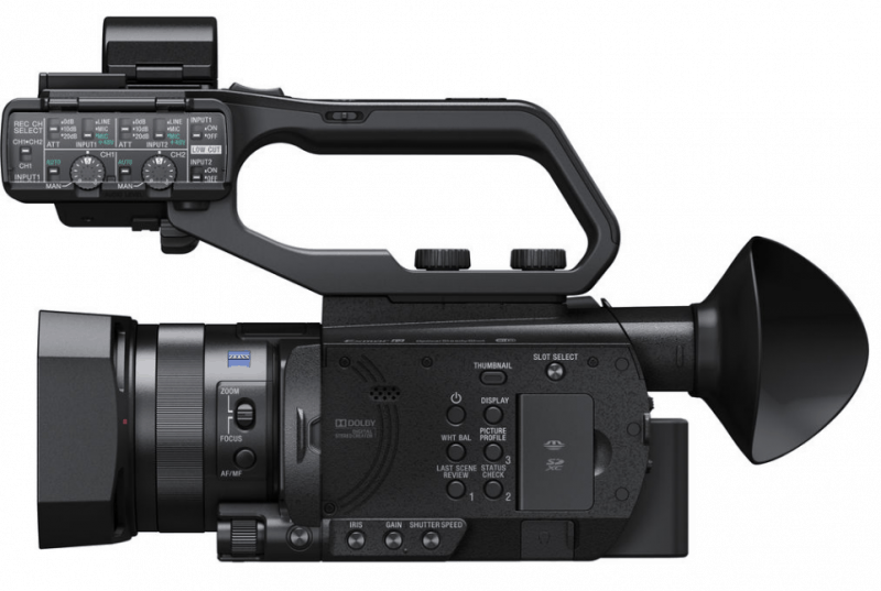 PXW-X70 review, 4K camcorders, professional camcorders