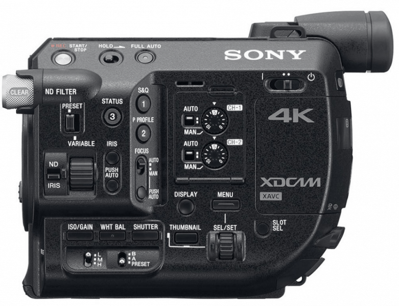PXW-FS5 features, 4K recording, 4K UHD, handheld recorder
