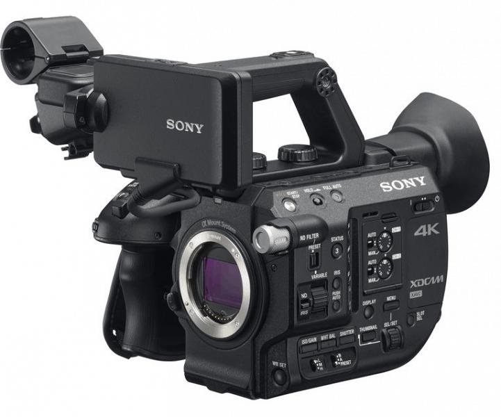 Sony PXW-FS5, 4K camcorder, Sony 4K cameras,
