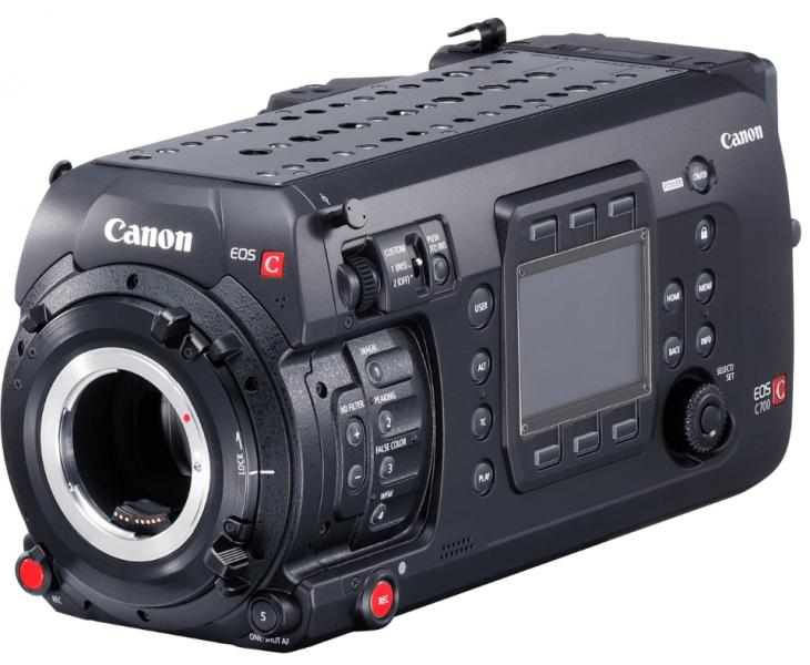 C700 camera, 4K camera, 4K cinema camera