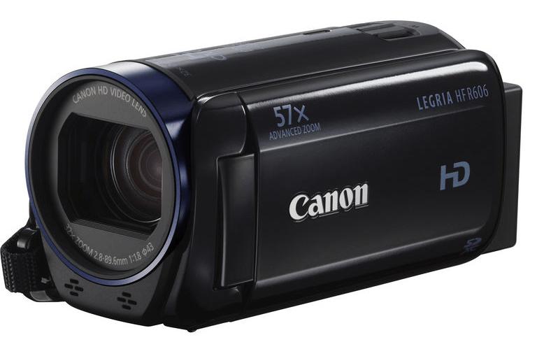 Canon Legria HF R606, Canon camcorders, HD camcorders