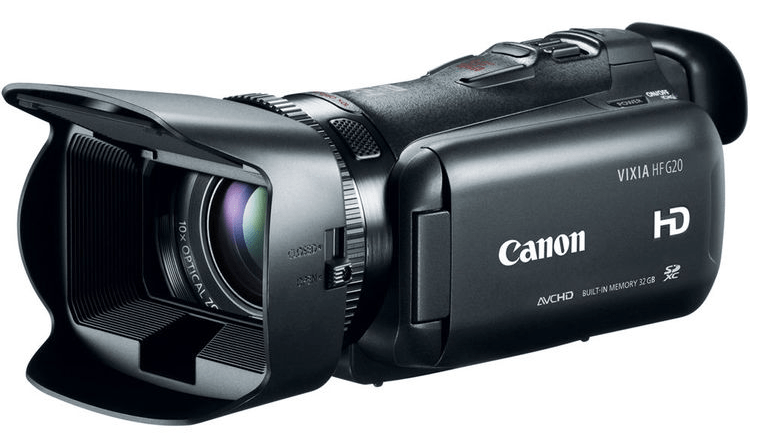 Canon VIXIA HF G20, Canon camcorders, full HD camcorders
