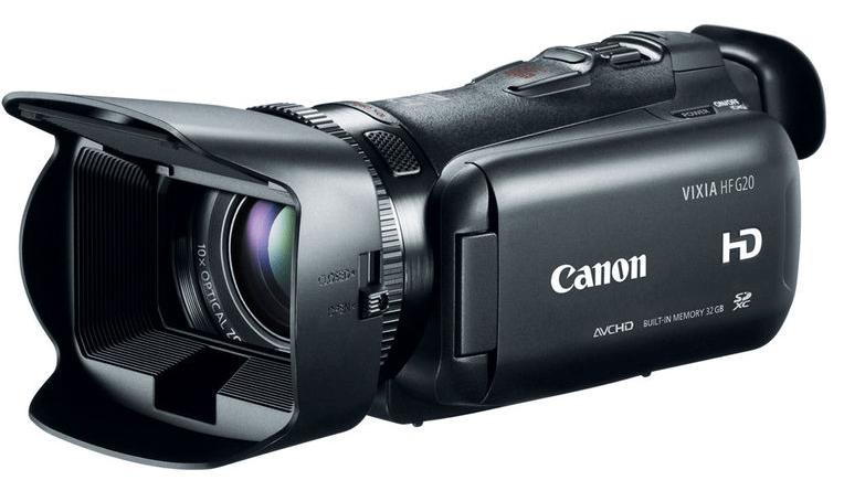 Canon VIXIA HF G20, Canon camcorders, full HD camcorders