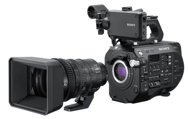 FS7 II camcorder, Sony 4K camcorders, 4K