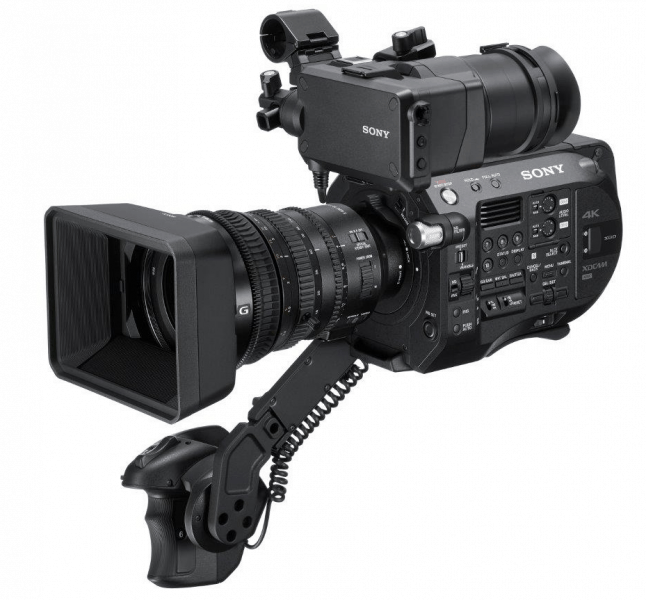 Sony FS7 II, professional camcorder, production camcorders, 4K camcorders