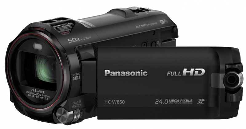 Panasonic HC-W850, full HD camcorders, camcorder review, Panasonic camcorders