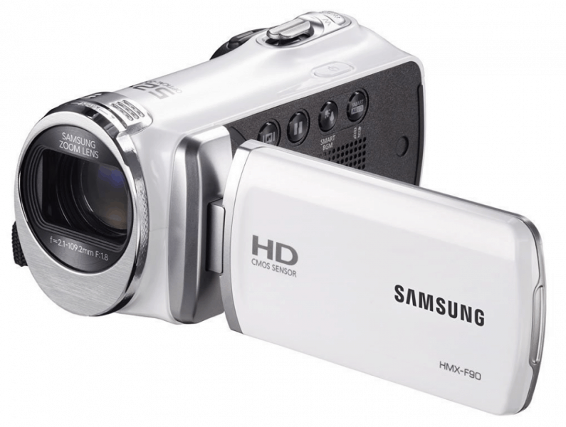 Samsung F90, full HD camcorders, Samsung camcorders