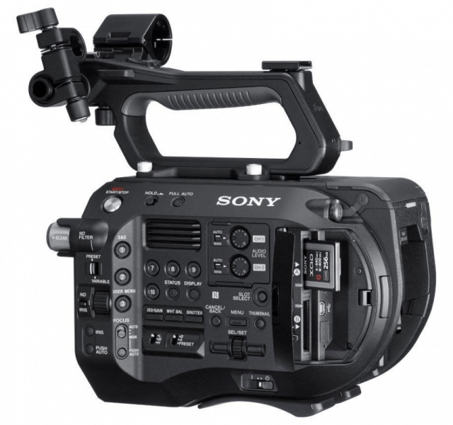 FS7 II, Electronic Variable ND Filter, 4K cameras