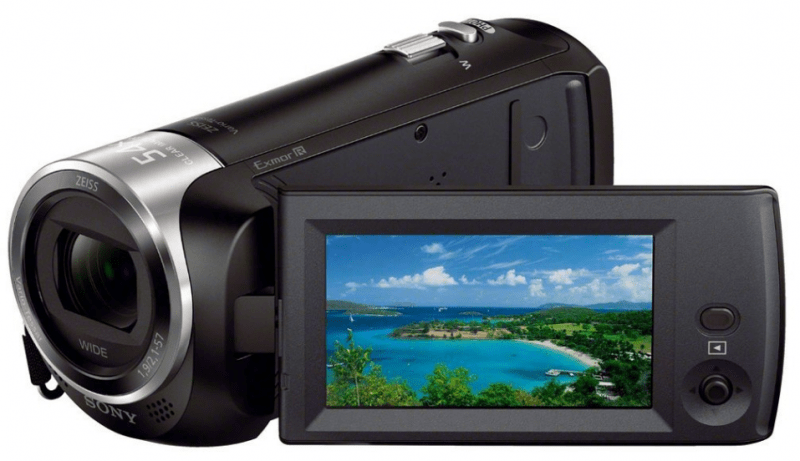 Sony HDR-CX240, Full HD camcorder, Sony Camcorder