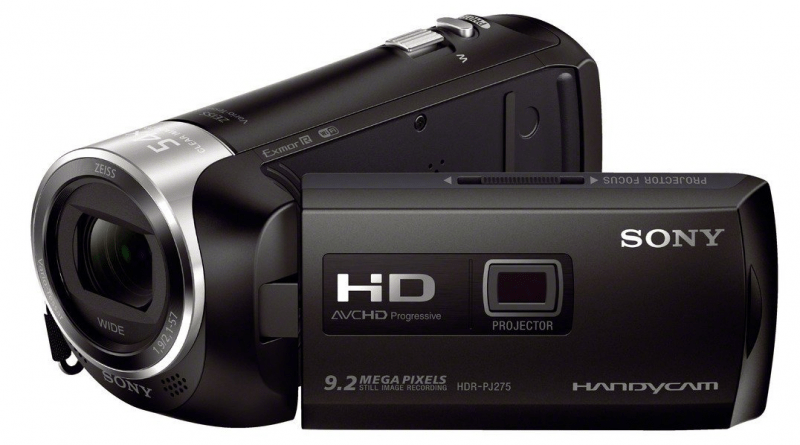 Sony HDR-PJ275, full HD camcorder, Sony camcorders, camcorder reviews