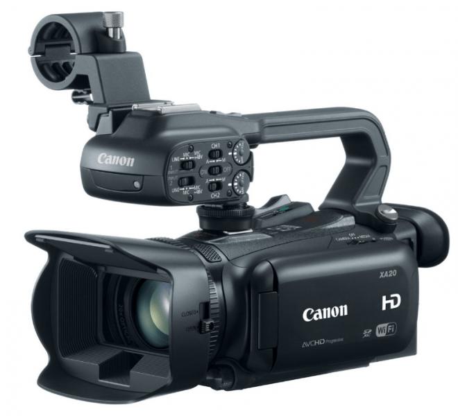 Canon XA20, procamcorder, professional camcorder