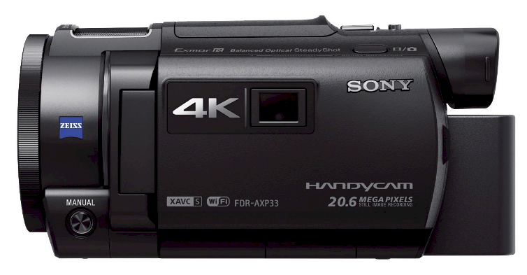Sony FDR-AXP33, Sony camcorder, handheld camcorders
