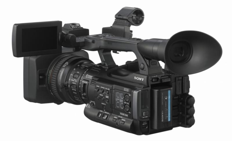 XDCAM XAVC HD422, Sony XDCAM, full HD handycam