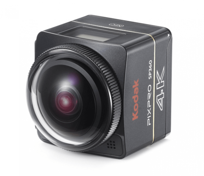 Kodak Pixpro SP360 4K, action camera, 4K action cameras