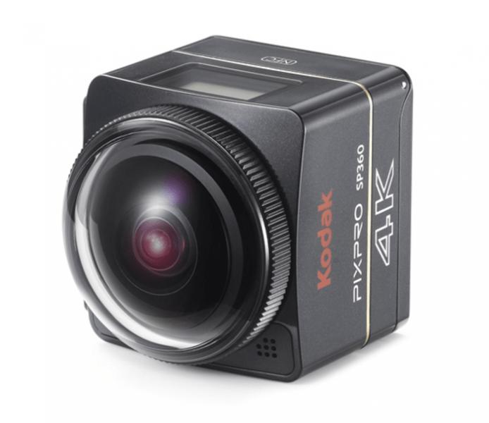 Kodak Pixpro SP360 4K, action camera, 4K action cameras