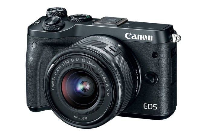 EOS M6, Canon EOS M series, Interchangeable Lens Digital Camera