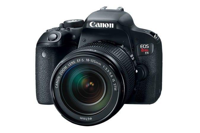 Canon EOS Rebel T7i, DSLR, Canon cameras