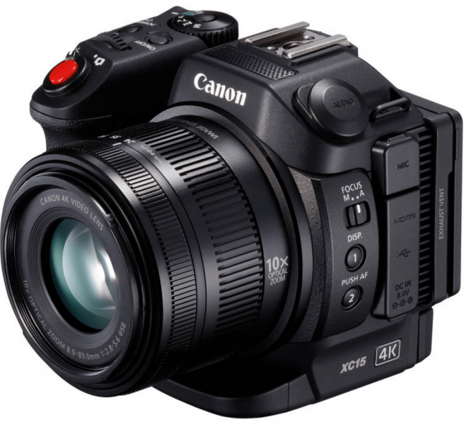 Canon 4K, XC15 review, 4K video