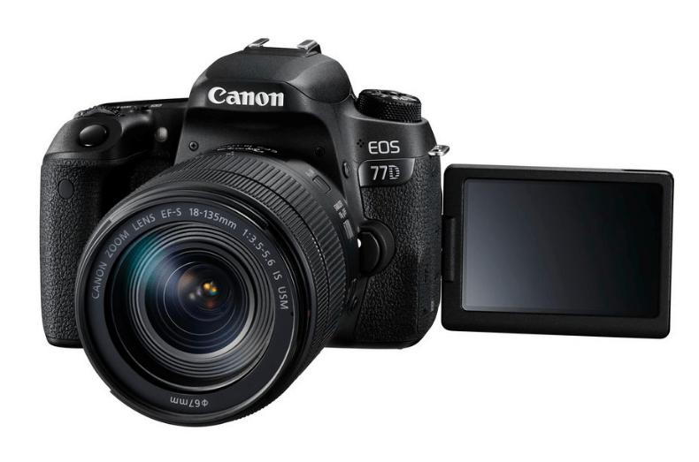 EOS 77D, Canon DSLR, Canon cameras