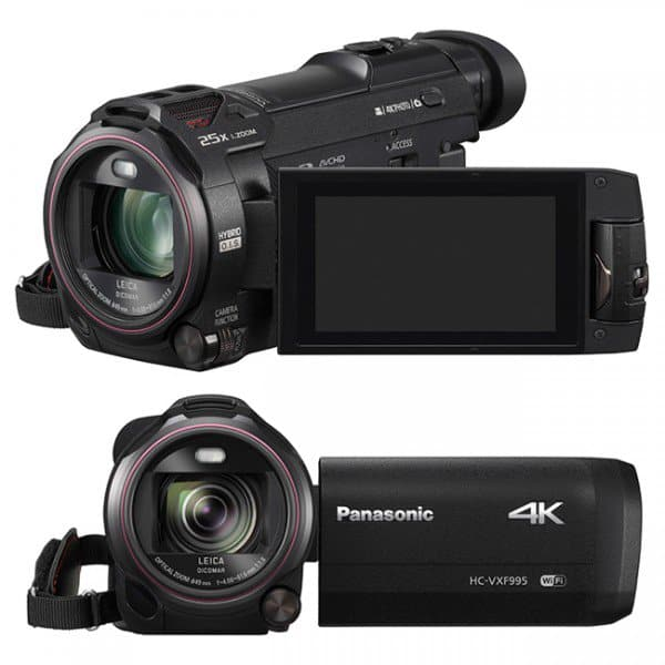 Panasonic announces six new 4K and Full HD camcorders